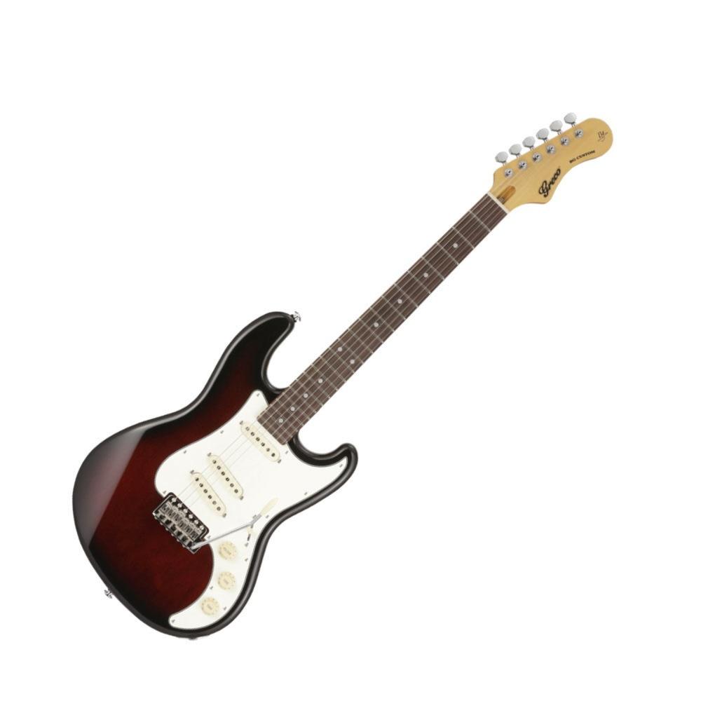 GRECO BG-CUSTOM Walnut Burst エレキギター