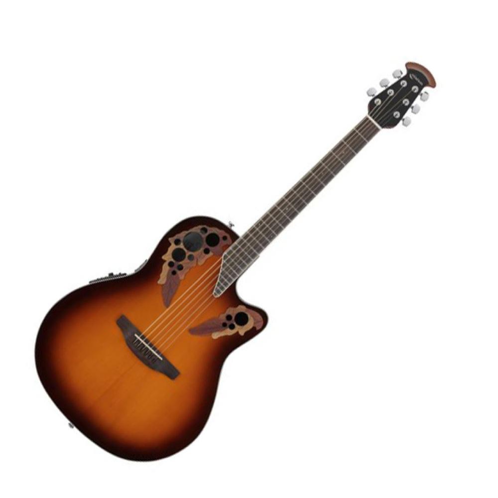 OVATION Celebrity Elite Super Shallow Body CE48 1 Sunburst エレクトリックアコースティックギター