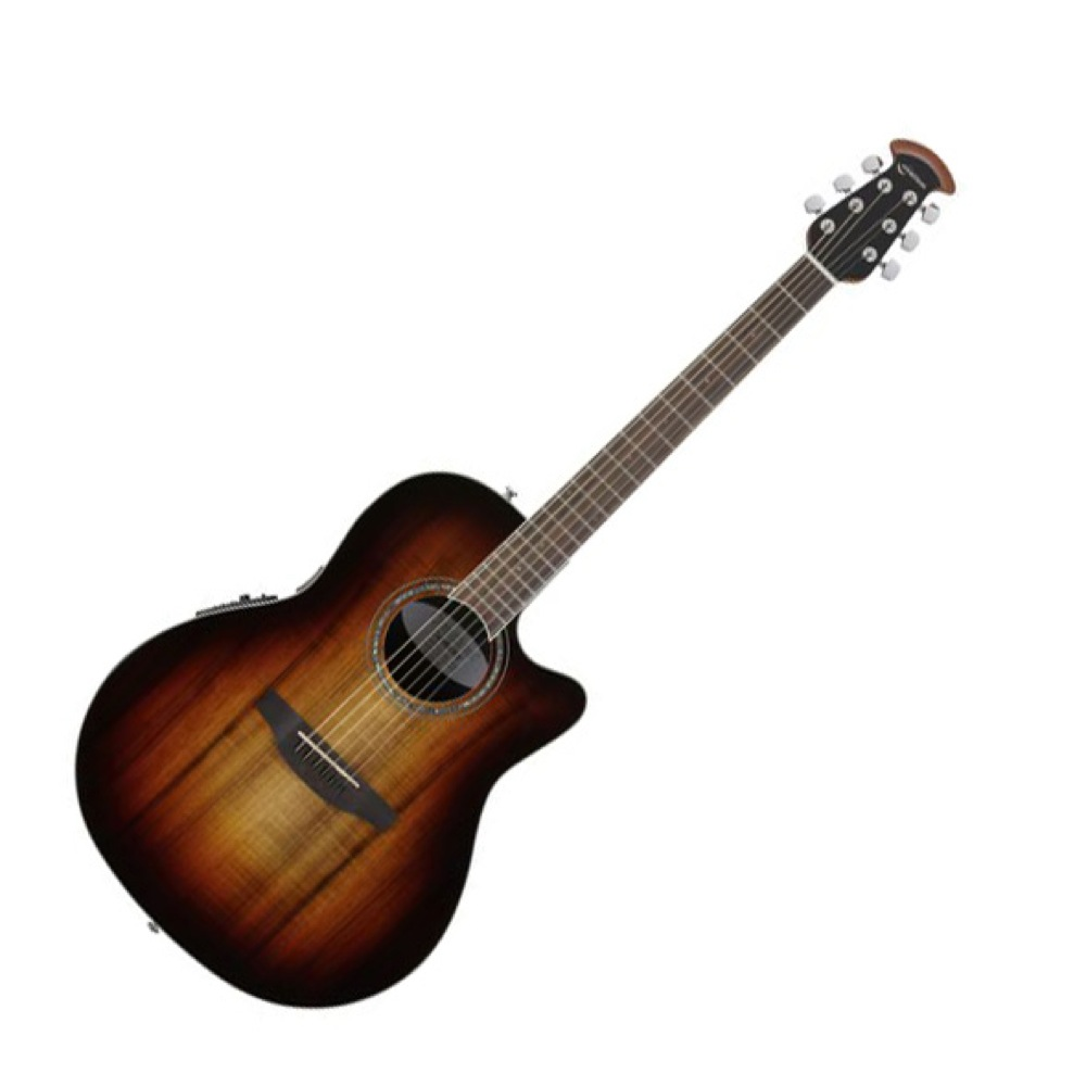 OVATION Celebrity Standard Plus Super Shallow Body CS28P KOAB Koa Burst エレクトリックアコースティックギター