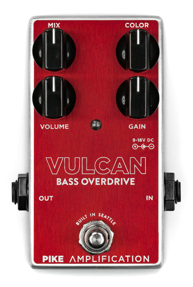 Pike Amplification Vulcan -Bass Overdrive-