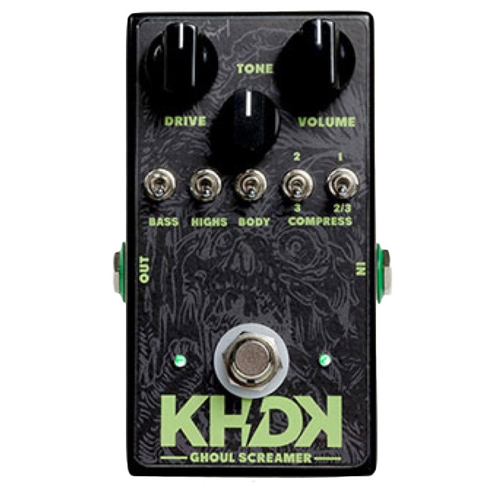 KHDK Electronics Ghoul Screamer Kirk Hammett Signature Model ギターエフェクター