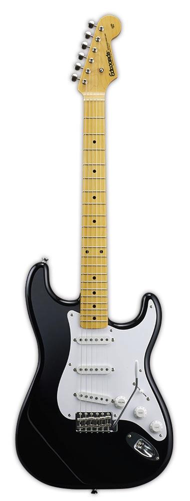 EDWARDS E-ST-125ALM BLK エレキギター