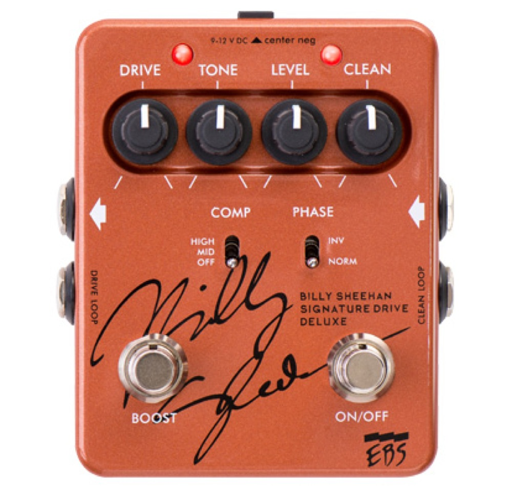 EBS Billy Sheehan Signature Drive DELUXE ベース用エフェクター