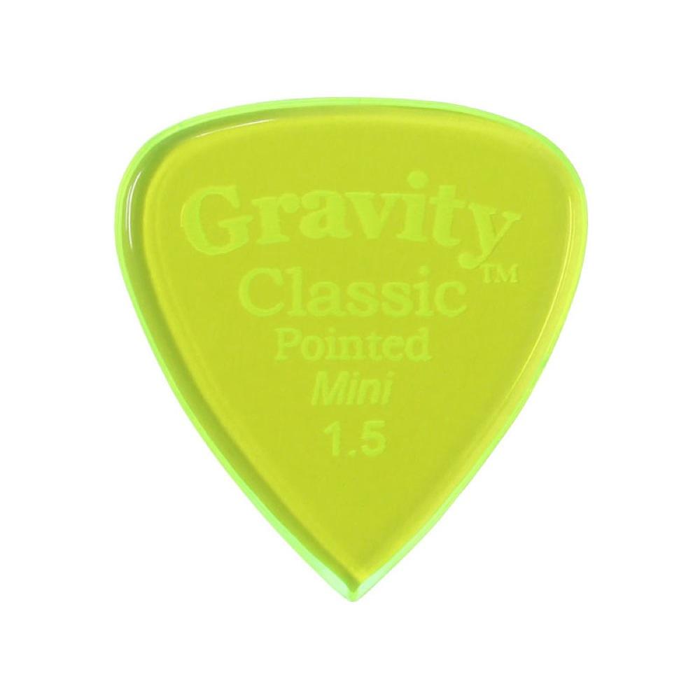 Gravity Classic Pointed Mini Guitar Pick 3.0mm