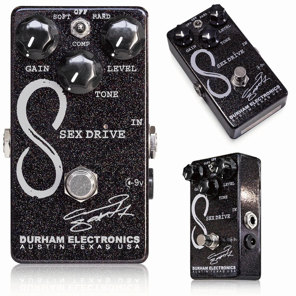 Durham Electronics Sex Drive 15th Anniversary ブースター エフェクター
