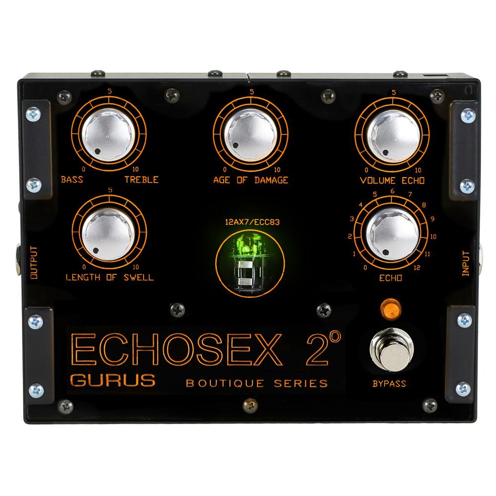 Gurus Amp Echosex 2° エコー エフェクター