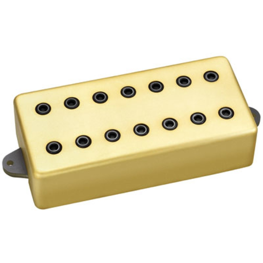 DiMarzio DP714SG Titan7 Bridge Satin Gold Cover ギターピックアップ
