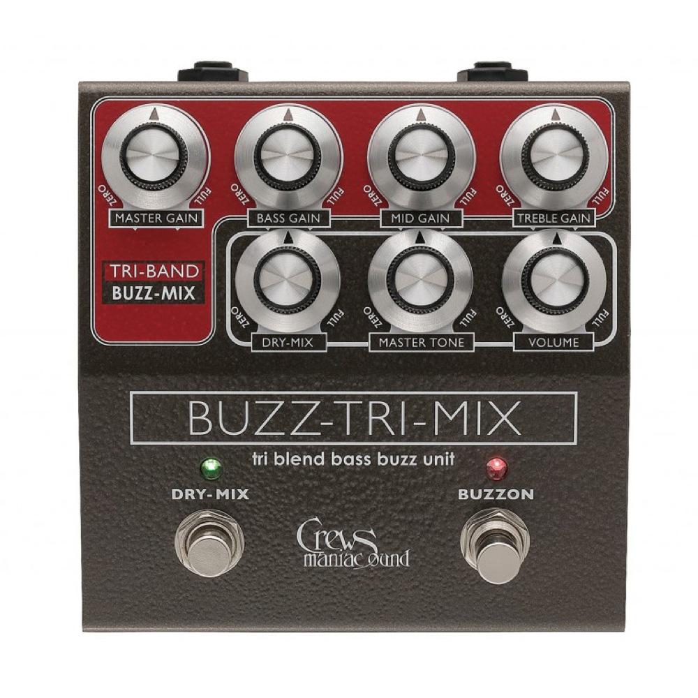 Crews Maniac Sound Buzz-Tri-Mix ベースファズ エフェクター