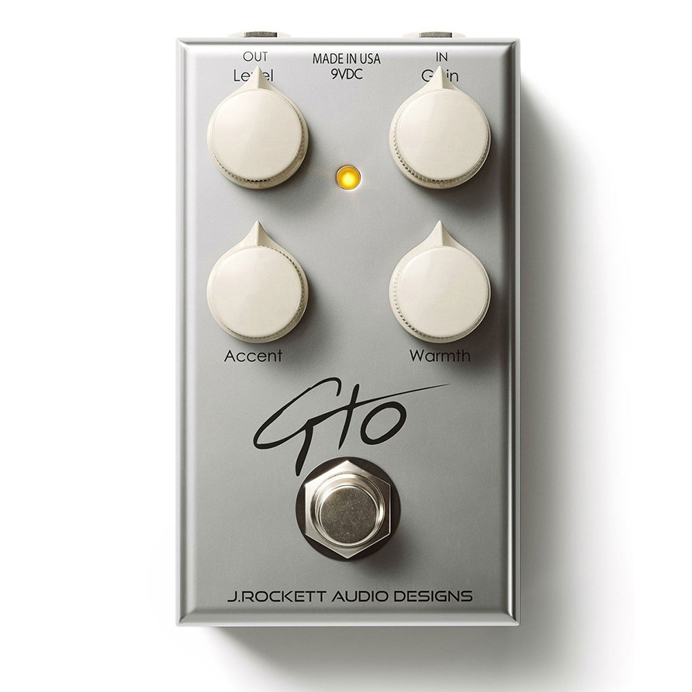 J Rockett Audio Designs (JRAD) GTO ギターエフェクター