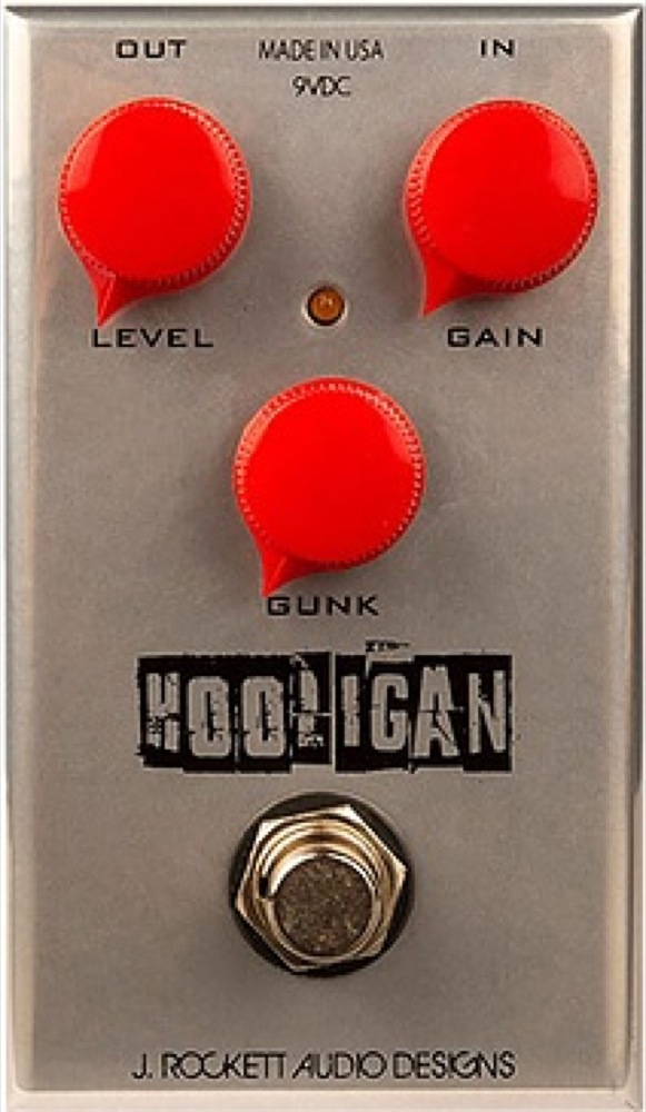J Rockett Audio Designs (JRAD) HOOLIGAN ギターエフェクター