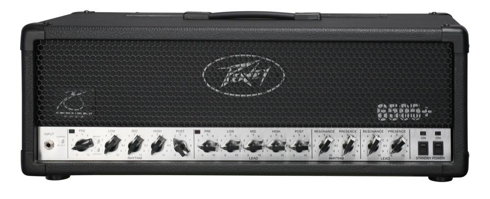 PEAVEY 6505+ Head ギターアンプヘッド 120W 真空管アンプ 【国内正規品】