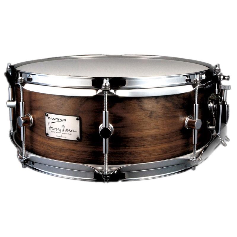 CANOPUS HM-1455 Harvey Mason Snare Drum ハーヴィー・メイソン シグネイチャー スネアドラム