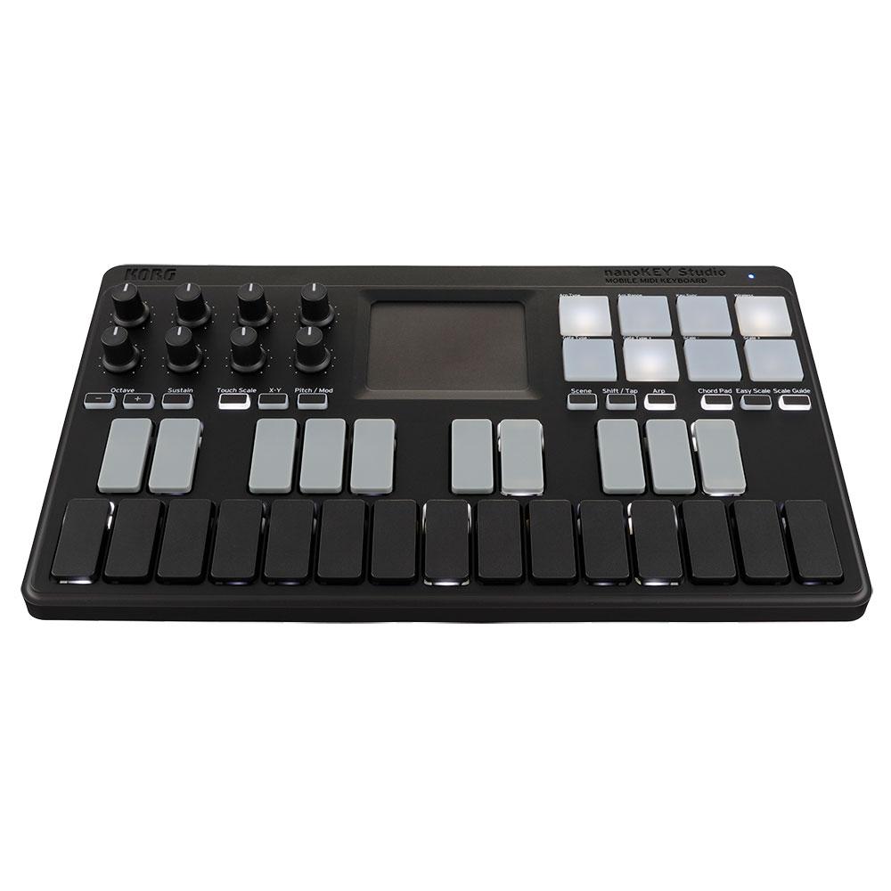 KORG NANOKEY-ST nanoKEY Studio モバイル MIDIキーボード