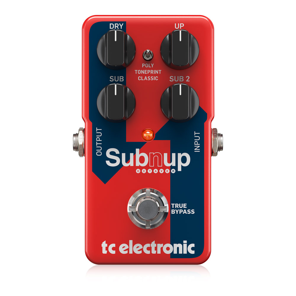 tc electronic Sub 'N' Up Octaver オクターバー ギターエフェクター