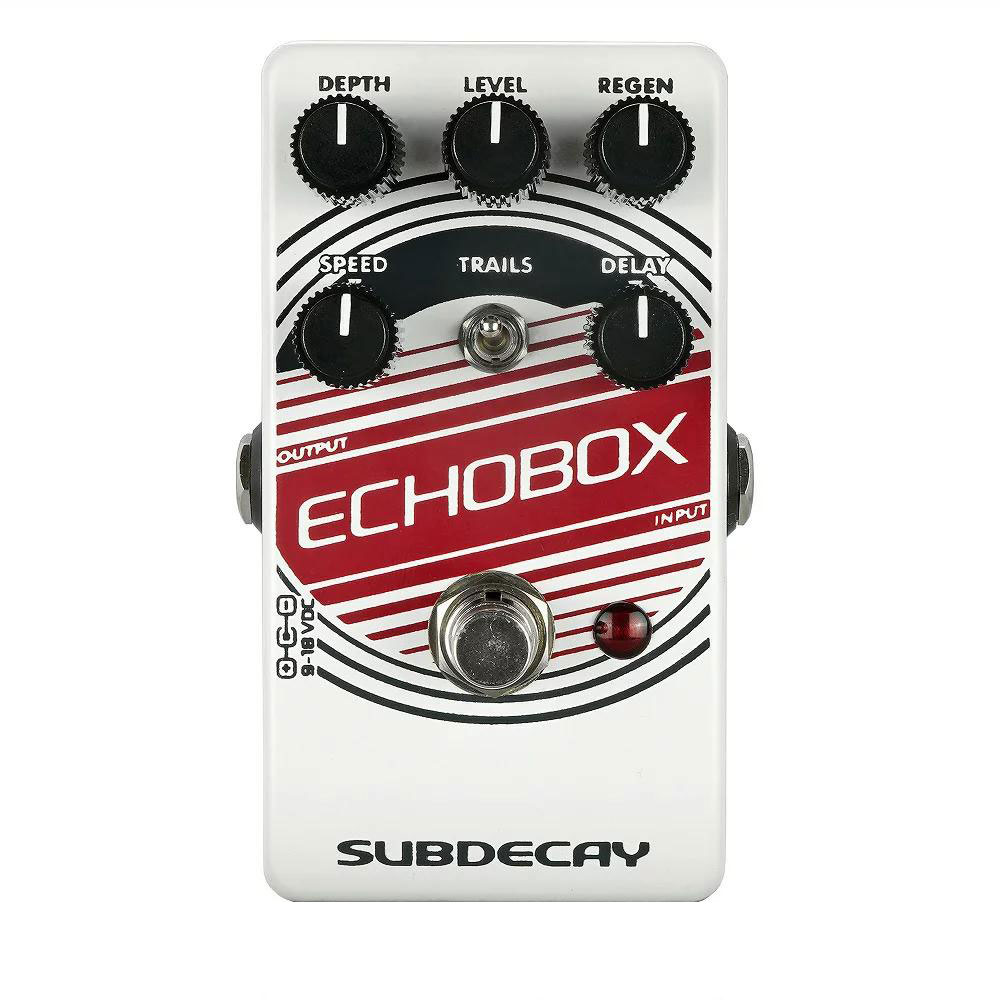 Subdecay Echobox v2 ディレイ ギターエフェクター