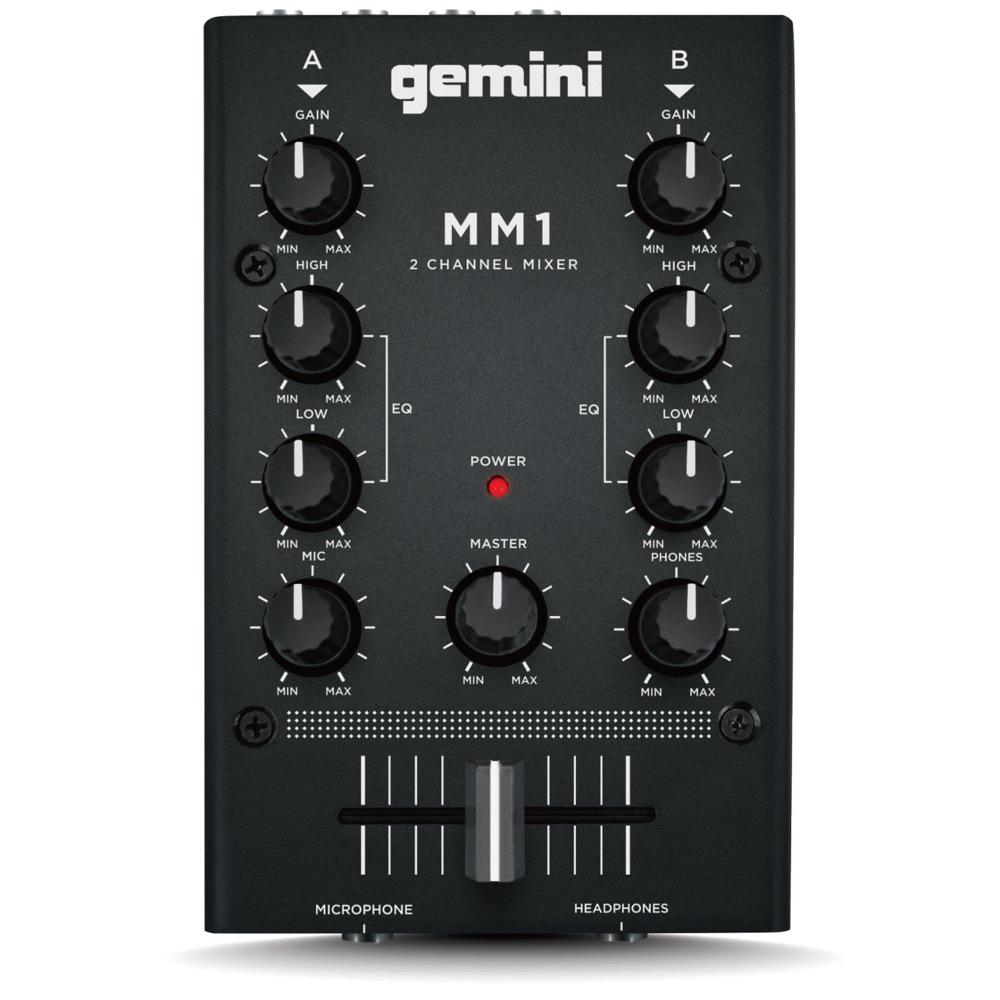 GEMINI MM1 2CHANNEL MIXER DJミキサー