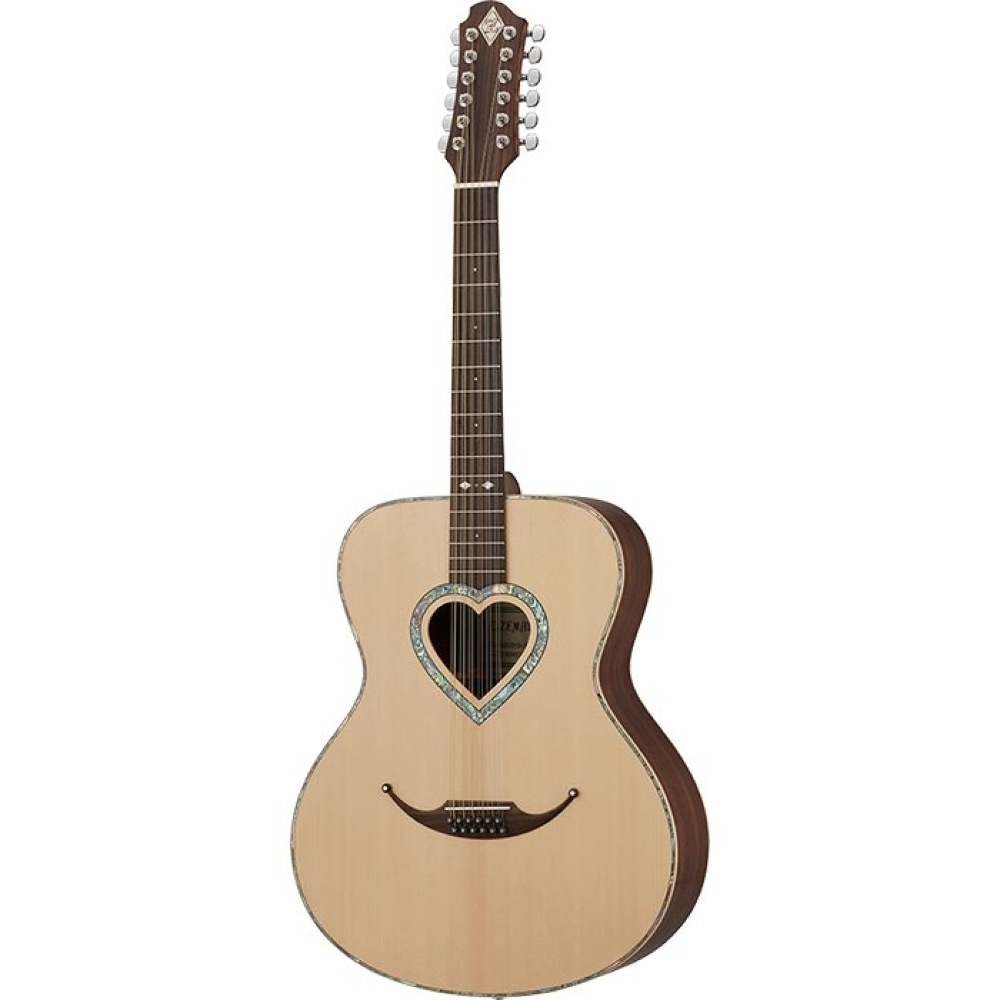 Zemaitis JUMBO CAJ-200HS-12 12弦アコースティックギター