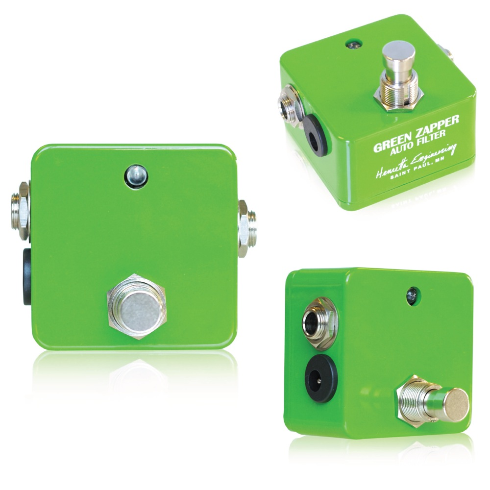 Henretta Engineering Green Zapper Auto Filter ギターエフェクター