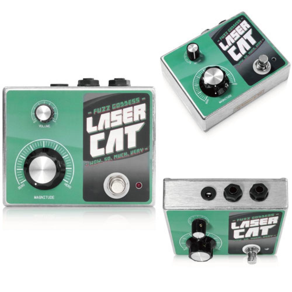 Fuzz Goddess LASER CAT ファズ ギターエフェクター