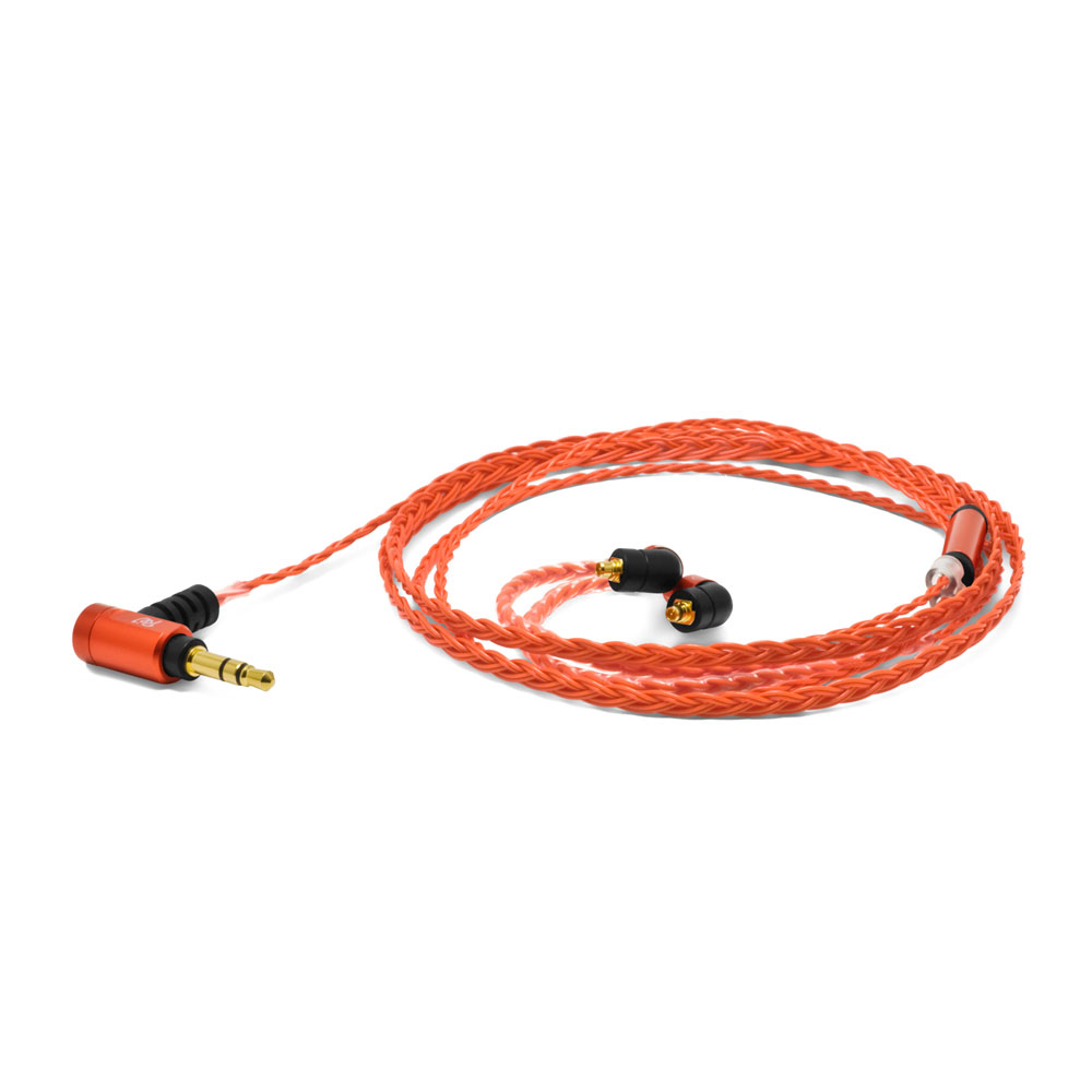 Re:cord Palette 8 MX-B Deep Orange イヤホン用リケーブル