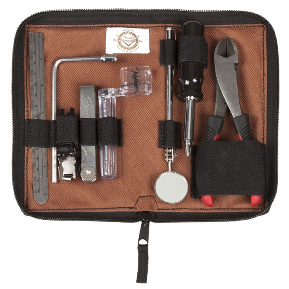 Fender Custom Shop Acoustic Tool Kit by CruzTools ギター用 メンテナンス工具セット