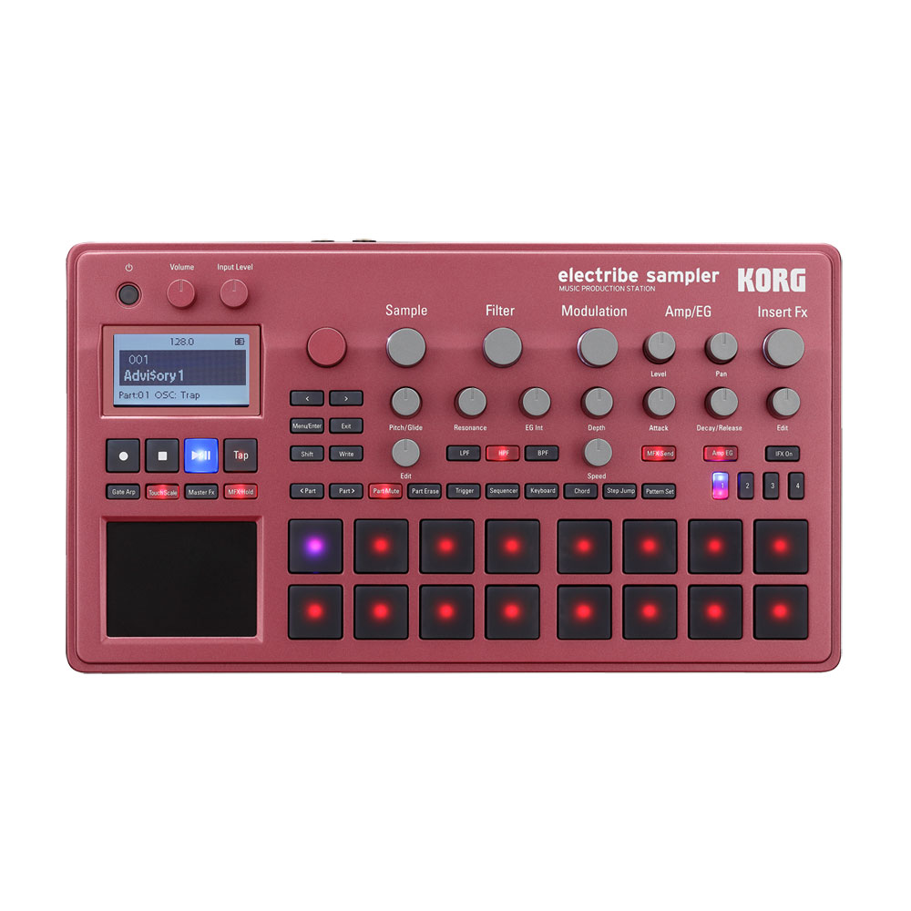 KORG ELECTRIBE2S-RD MUSIC PRODUCTION STATION ELECTRIBE SAMPLER Electra Eve sampler