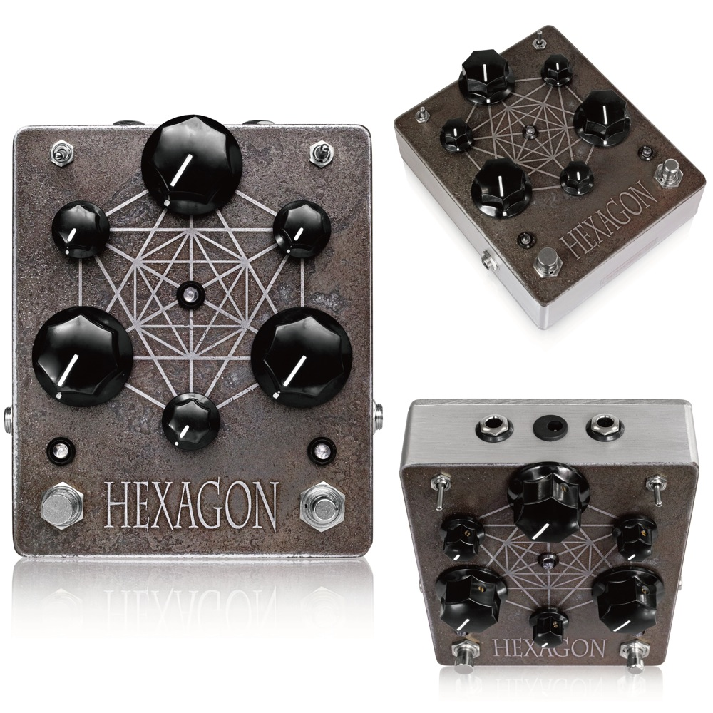 Triode Pedals Hexagon ギターエフェクター