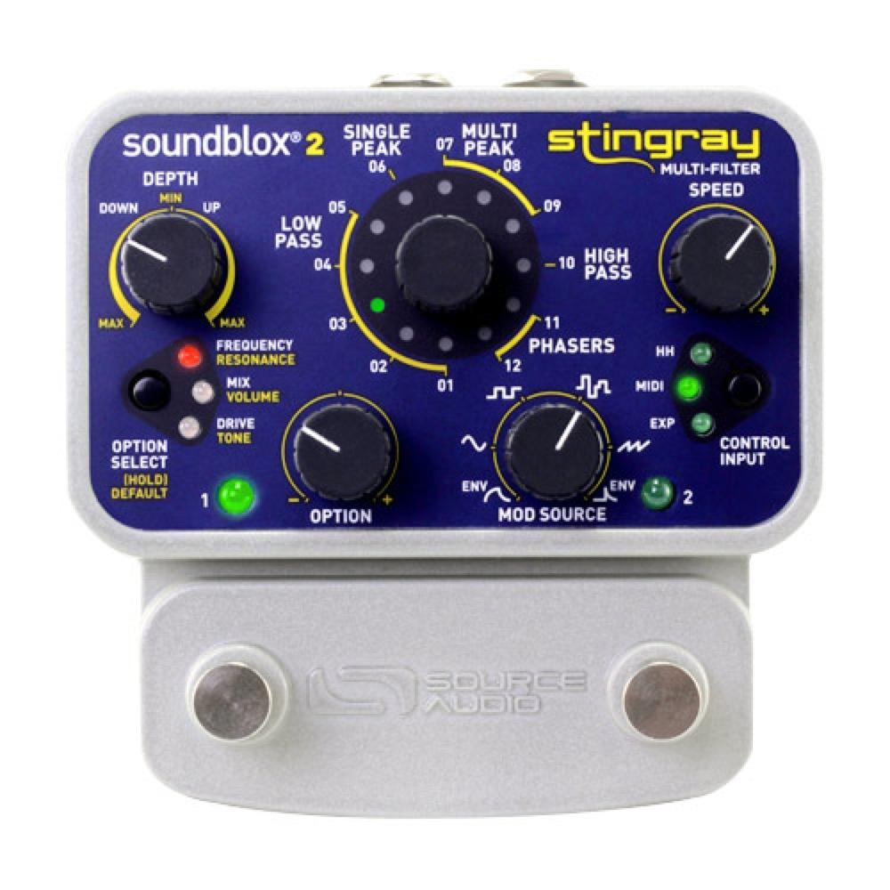 Source Audio SA224 Stingray Multi Filter エフェクター