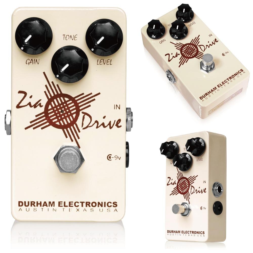 Durham Electronics Zia Drive ギターエフェクター