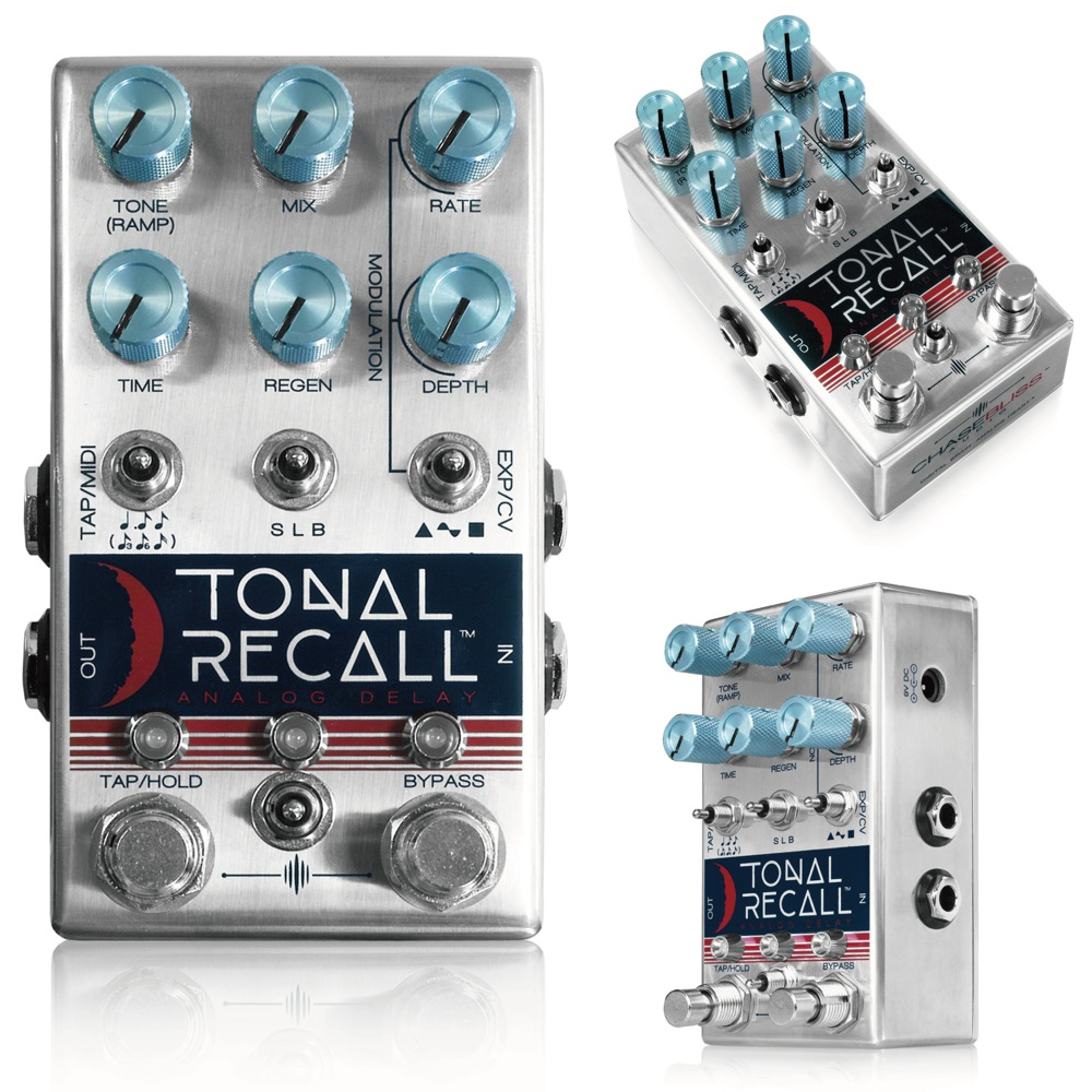 Chase Bliss Audio Tonal Recall ギターエフェクター