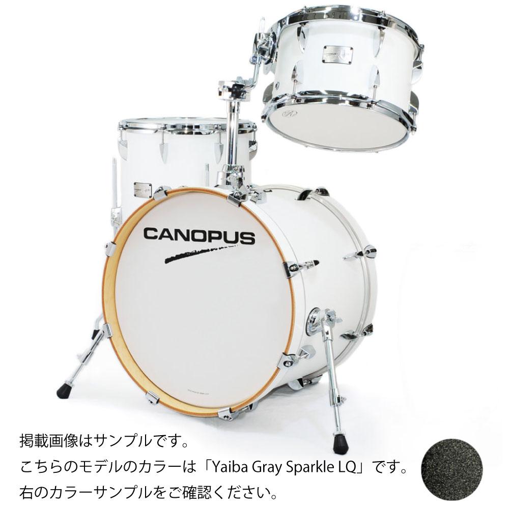 CANOPUS Yaiba II Bop Kit Yaiba Gray Sparkle LQ スネア抜き ドラムセット