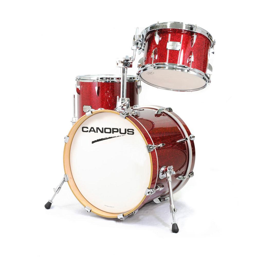 CANOPUS Yaiba II Bop Kit Dark Red Sparkle LQ スネア抜き ドラムセット