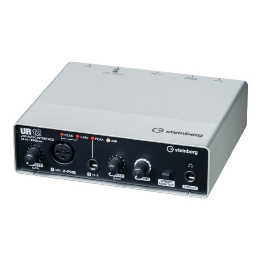 Steinberg UR12 2×2 USBオーディオインターフェース