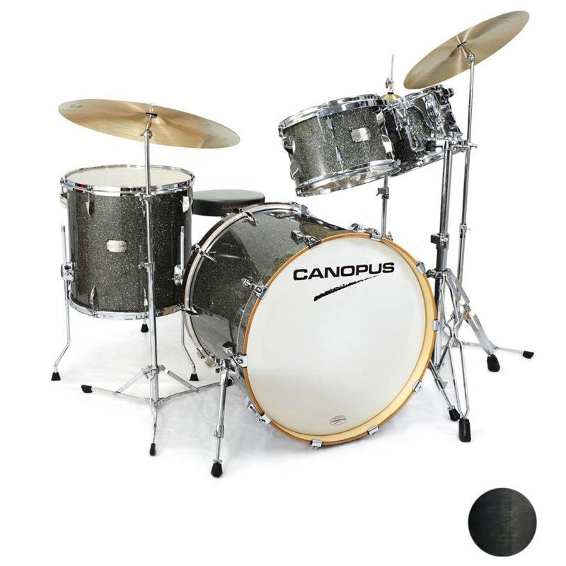 大特価!! CANOPUS through Yaiba II Groove Kit Kit Ebony LQ (See Ebony through Black) スネア付き ドラムセット, ナキジンソン:64d78eae --- wap.pingado.com