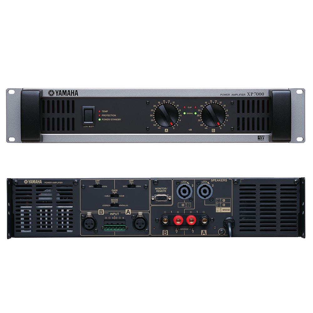 YAMAHA XP7000 パワーアンプ