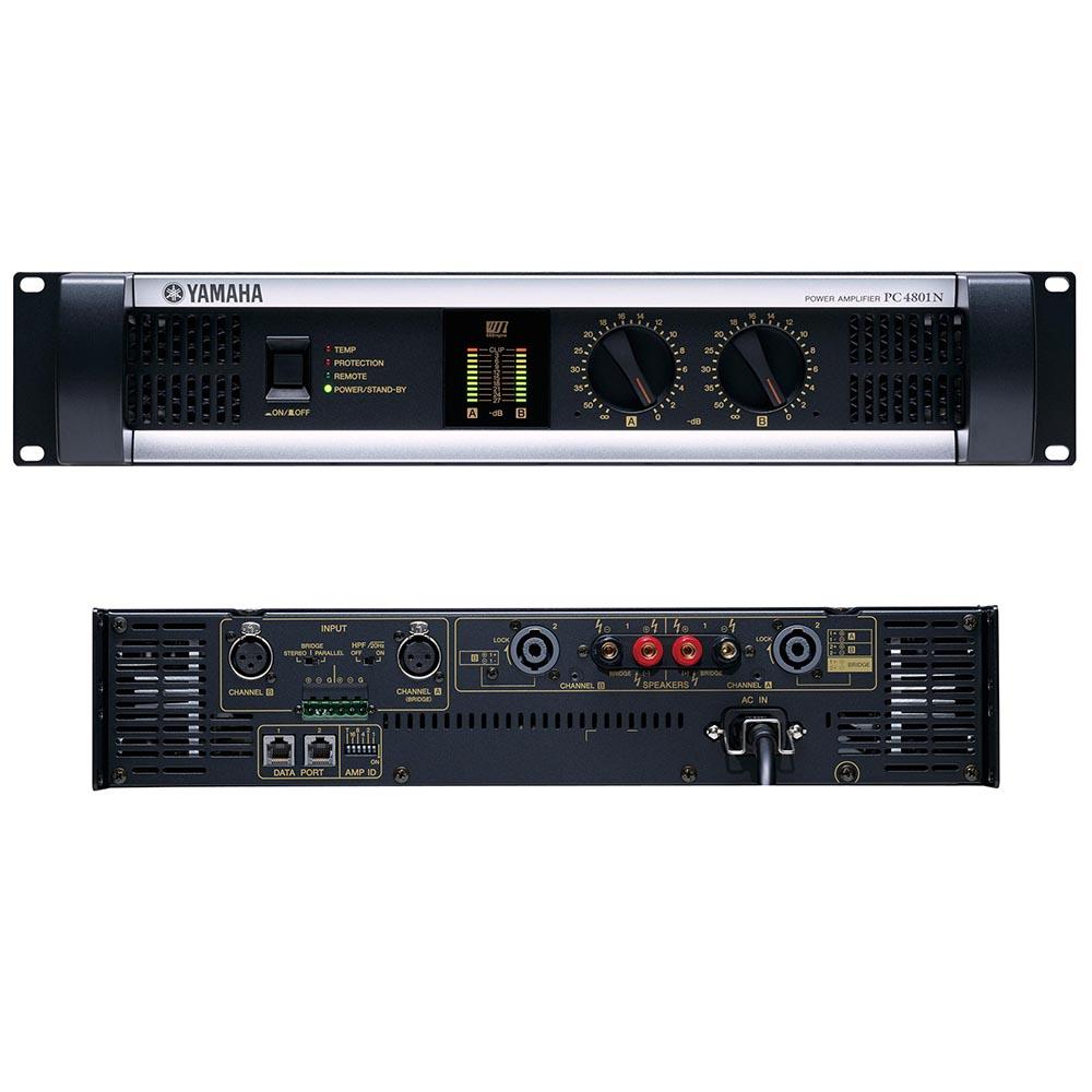 YAMAHA PC4801N パワーアンプ