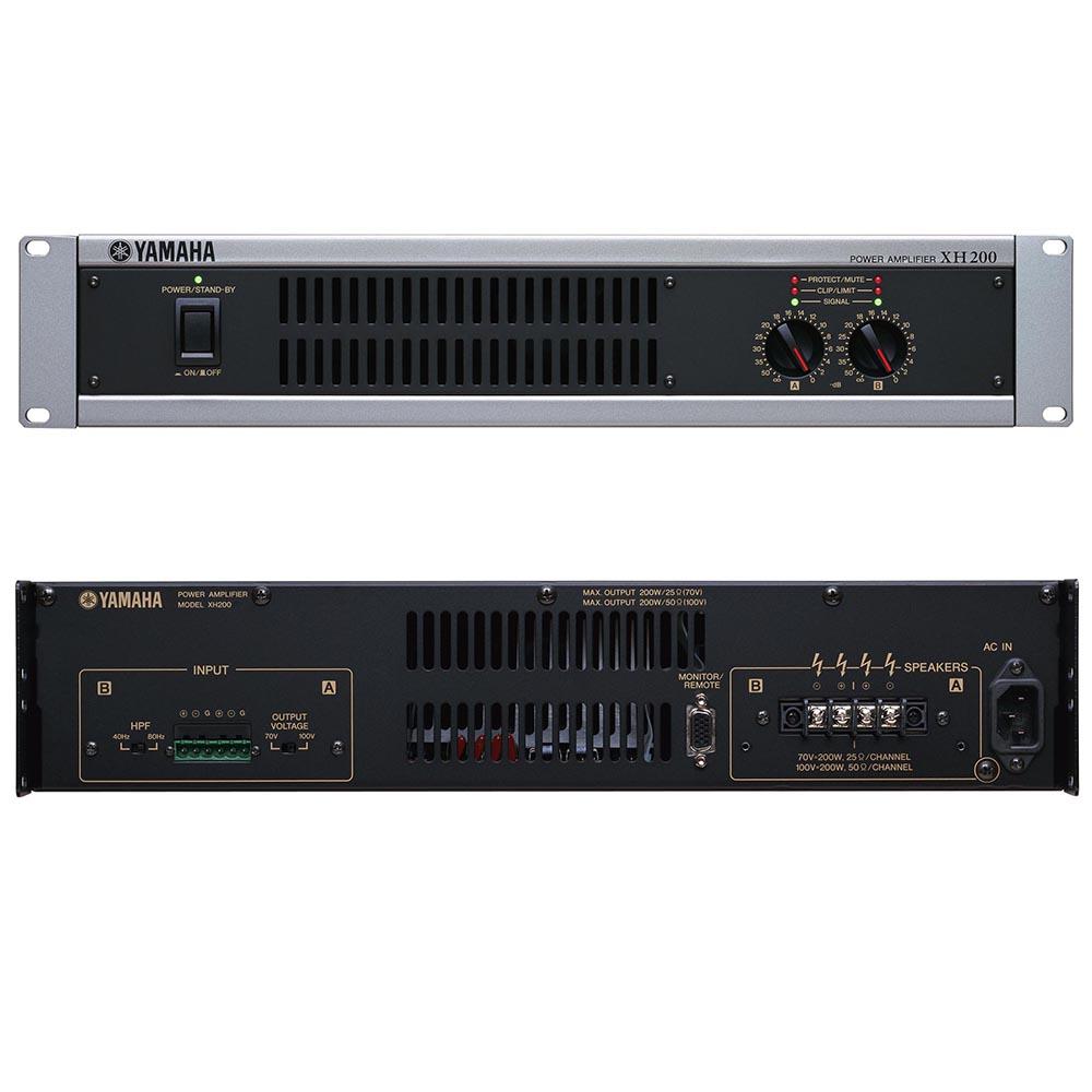 YAMAHA XH200 パワーアンプ