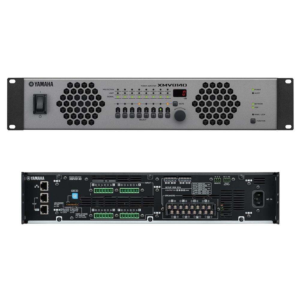 YAMAHA XMV8140 パワーアンプ