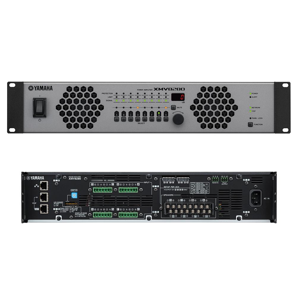 YAMAHA XMV8280 パワーアンプ