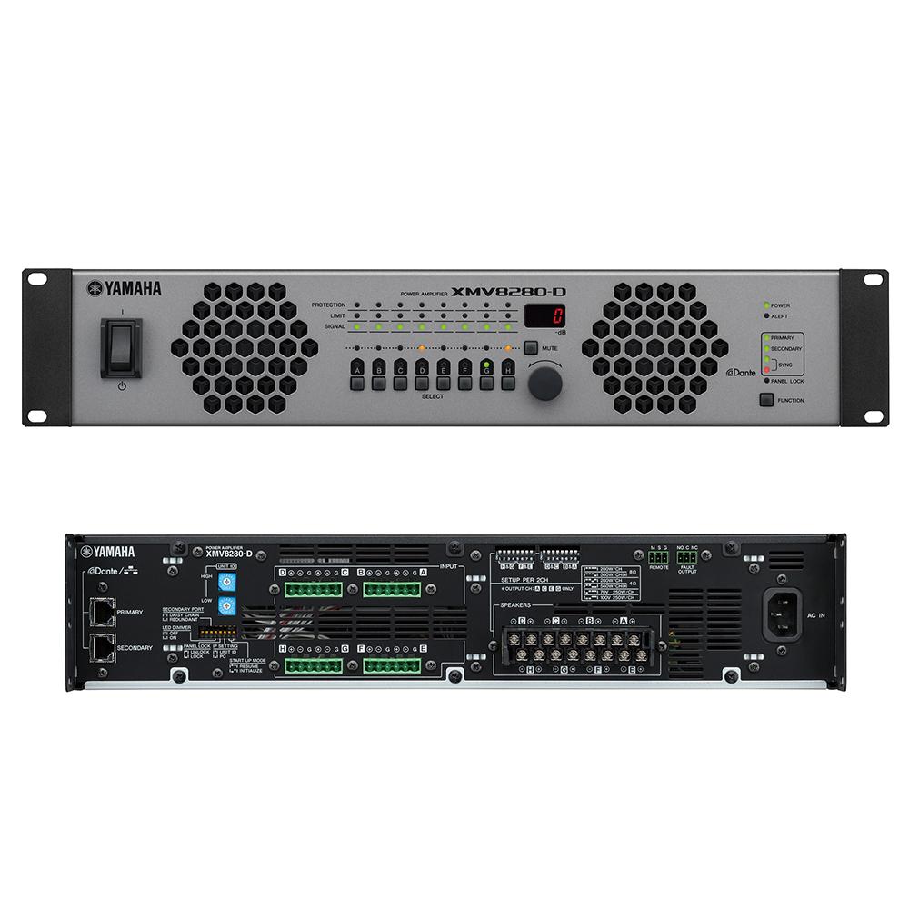 YAMAHA XMV8280-D パワーアンプ