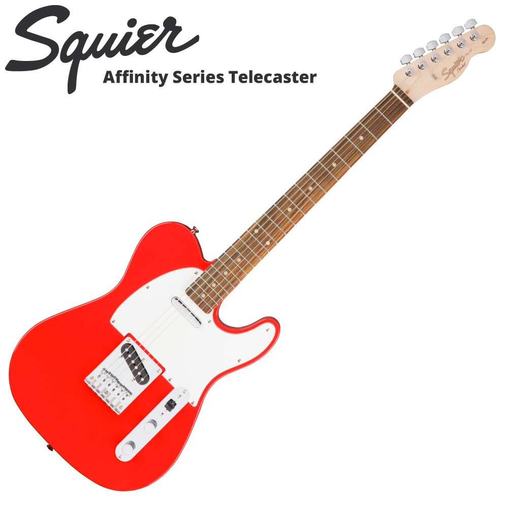 Squier Affinity Series Telecaster RCR RW エレキギター