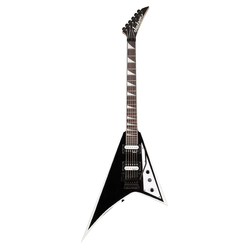 Jackson JS Series JS32 RHOADS Black with White Bevels エレキギター
