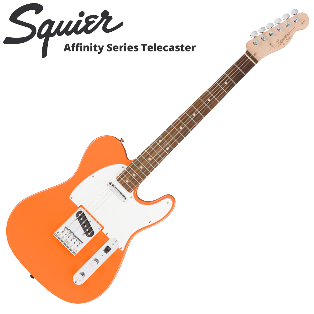 Squier Affinity Series Telecaster CPO RW エレキギター