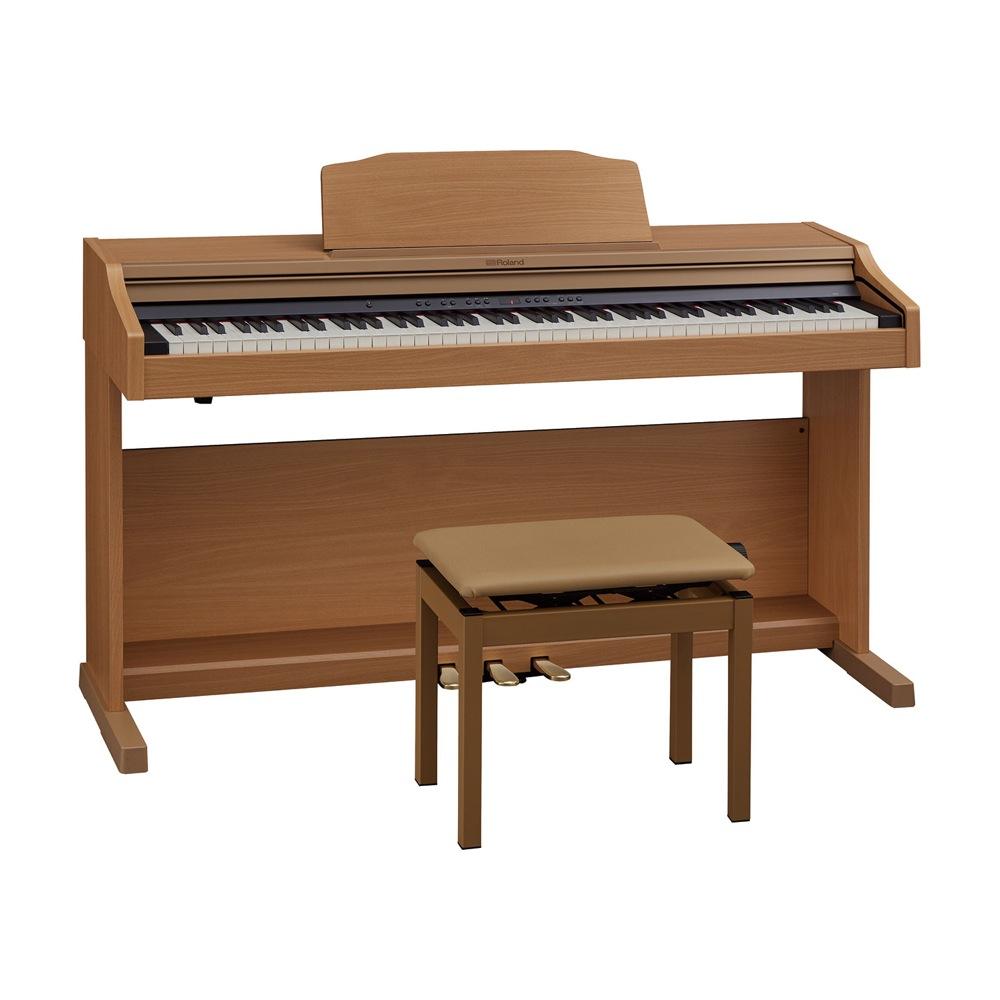 Roland RP501R-NBS Digital Piano ナチュラルビーチ調仕上げ デジタルピアノ 専用高低自在椅子付き 【組立設置無料サービス中】