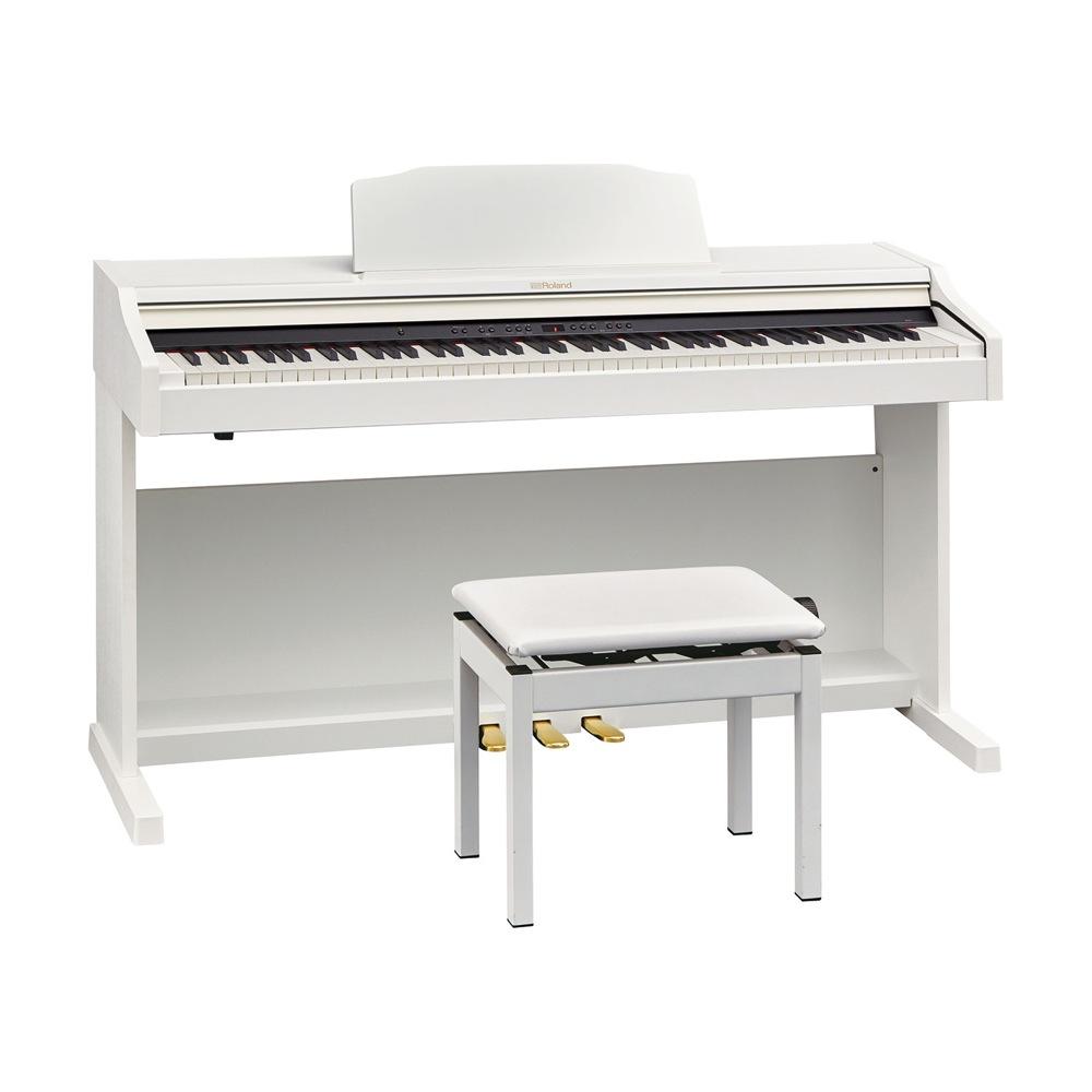 Roland RP501R-WHS Digital Piano ホワイト デジタルピアノ 専用高低自在椅子付き 【組立設置無料サービス中】