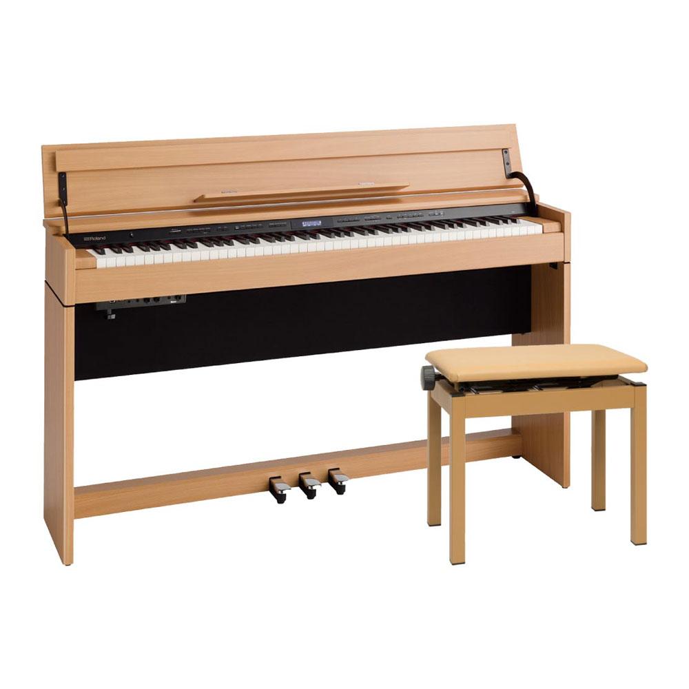 Roland DP603-NBS Digital Piano ナチュラルビーチ調仕上げ デジタルピアノ 専用高低自在椅子付き 【組立設置無料サービス中】