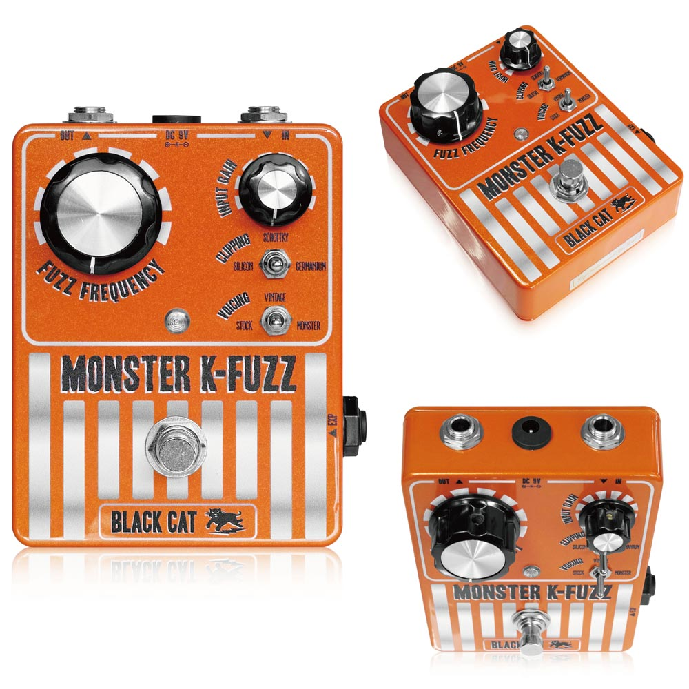 Black Cat Monster K-Fuzz Stompbox ギターエフェクター