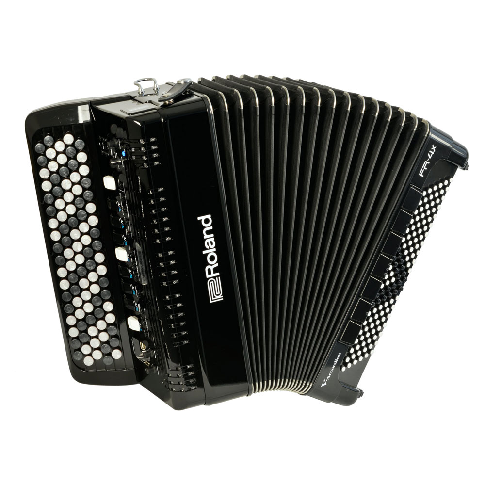 Roland FR-4XB BK V-Accordion ブラック デジタルアコーディオン ボタン鍵盤タイプ