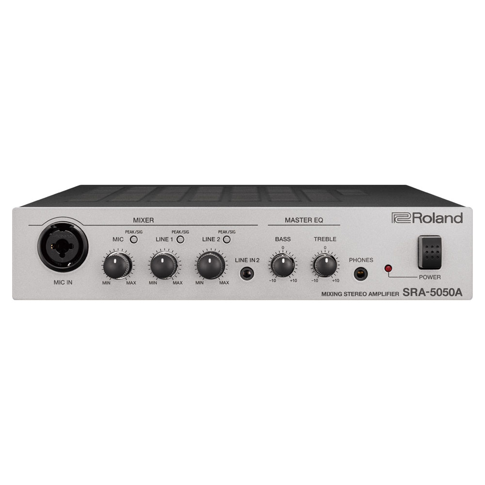 Roland SRA-5050A Mixing Stereo Amplifier パワーアンプ