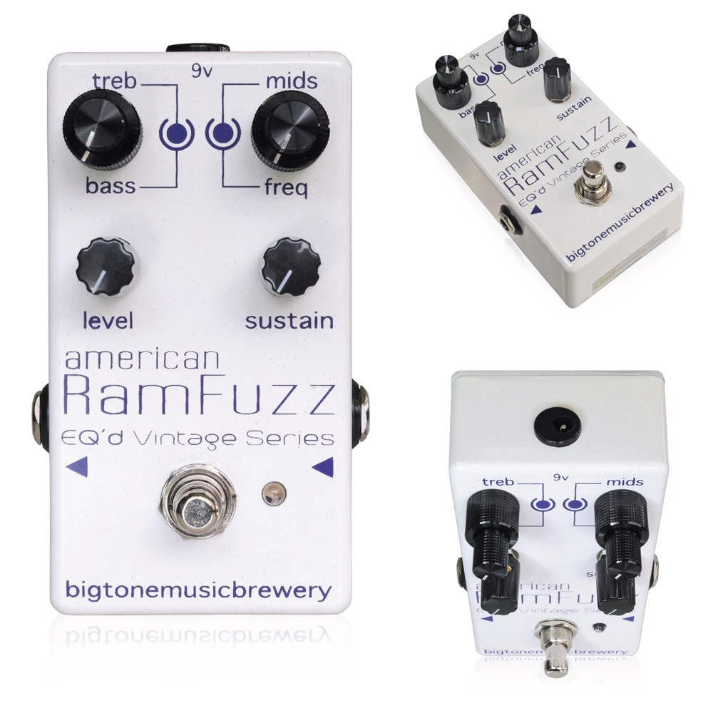 BigToneMusicBrewery American RamFuzz ギターエフェクター